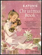 Cover image from Eaton's Christmas Book 1956