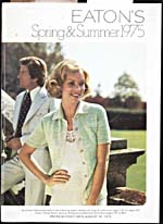 Cover image from Eaton's Spring and Summer 1975