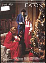 Cover of catalogue, Eaton, Noël 1975