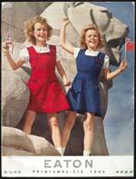 Cover image from Eaton - Printemps et été 1945