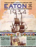 Cover image from Eaton - Printemps et été 1934