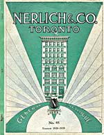 Cover image from Nerlich & Company. Fall and holiday catalogue : number 85, season 1938-1939