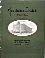 Cover image from Goodwin's Fall and Winter 1911-12