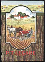Couverture du catalogue P.T. Legaré, 1920