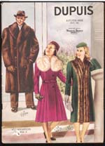 Cover image from Dupuis Frères - Automne et hiver 1945-1946