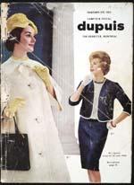 Cover image from Dupuis Frères - Printemps et été 1962