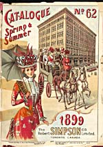 Cover image from Simpson's - Spring and Summer 1899