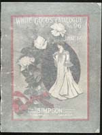 Cover image for T. Eaton Co. Catalogue [English edition]  Spring–Summer, no. 33, 1896