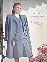 Cover image from Simpson's Spring and Summer 1945