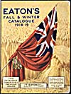 Cover of catalogue, Eaton's Fall and Winter 1918-19