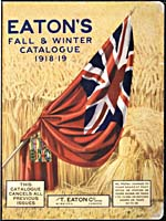 Cover image from Eaton's Fall and Winter 1918-1919