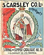 Cover image from Catalogue of Carsley Spring–Summer, 1902