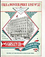 Cover image of Carsley, Fall-Winter, 1902