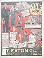 Cover image from T. Eaton —  Française Vente de mi-été, 1928