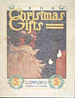 Cover image from Robert Simpson Company. Christmas gifts, 1906