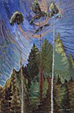 Painting, ODDS AND ENDS, by Emily Carr