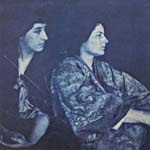 Photograph of Frances Loring and Florence Wyle