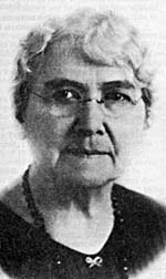 Portrait of Louise McKinney
