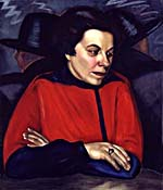 Painting, AU CAFÉ, by Prudence Heward