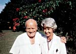 Photograph of Piero Corti and Lucille Teasdale after 35 years of marriage