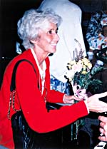 Photograph of Dr. Lucille Teasdale in Montréal, 1995
