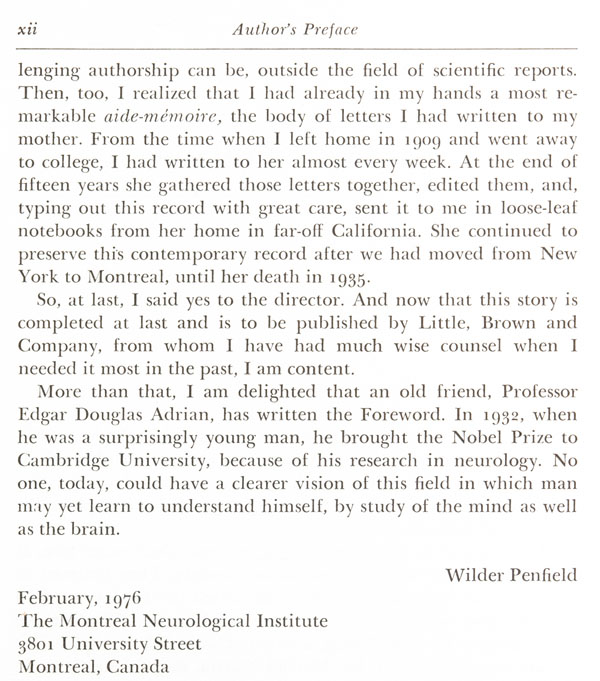 ARCHIVED - Dr  Wilder Penfield - Famous Canadian Physicians
