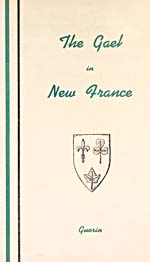 Cover of book, THE GAEL IN NEW FRANCE, by Thomas Guerin, 1946