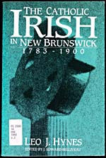 Couverture du livre THE CATHOLIC IRISH IN NEW BRUNSWICK, de Leo J. Hynes, 1992