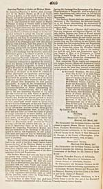 Proclamation for the Renewal of Quarantine Regulations at Québec CANADA GAZETTE, No. 287, March 27, 1847, pp. 4088