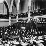 Photograph of a session of the House of Commons, Ottawa, 1897
