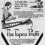 Advertisement aimed at amateur photographers in the PERTH COURIER, Ontario, October 3, 1913