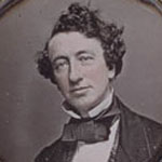 Daguerreotype of a young John A. Macdonald, date unknown