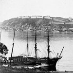 Photograph of Québec as seen from Lévis, circa 1880-1890