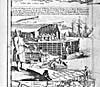 Élément graphique : La pêche, le traitement et le séchage de la morue au début du XVIIIe siècle