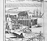 Image : La pêche, le traitement et le séchage de la morue au début du XVIIIe siècle