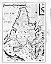Map: Fishing grounds around Newfoundland, 1693