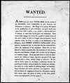 Photo :  Emploi affiché à la Compagnie de la Baie d'Hudson