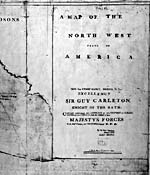 Carte : Partie de « A Map of the North West Parts of America ... » d'Alexander Henry, [1775-1776]