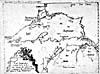 """Map: """"Lac Superieur…,"""" by the Jesuits Claude Dablon and Claude Allouez, [1672]"""