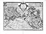 Carte : «carte des nouvelles découvertes du nord...» de Philippe Buache, 1752