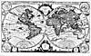 """Map: """"Mappe monde géo-hydrographique…,""""  by Pierre Mortier, [1700]"""