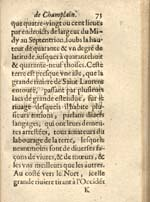 Image: Page from Champlain's 1632 account