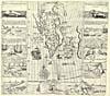 Carte : illustrations des débuts de la pêche à la baleine