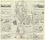 Map: Illustrations of early whaling industry