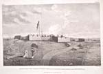 Drawing: Prince of Wales Fort, by Samuel Hearne