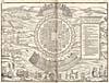 Élément graphique : Carte d'Hochelaga, village iroquois