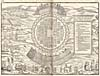 Image: Map of Iroquois village of Hochelaga, 1556