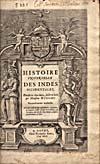 Élément graphique : Page de titre du récit des voyages des Corte Real écrit par Wytfliet