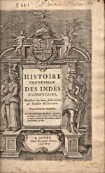 Image: Page de titre du récit des voyages des Corte Real écrit par Wytfliet