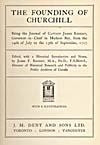 Élément graphique : Page de titre du journal de Knight publié en 1717
